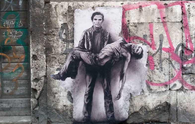 Ernest Pignon Ernest à Rome